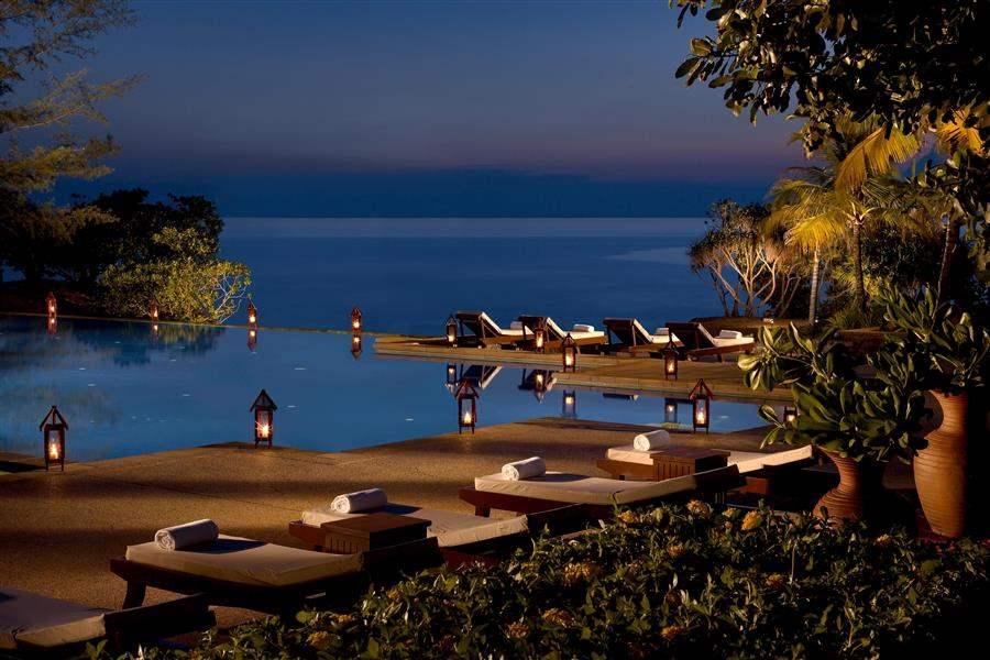 Tanjong Jara Resort Sea At Night
