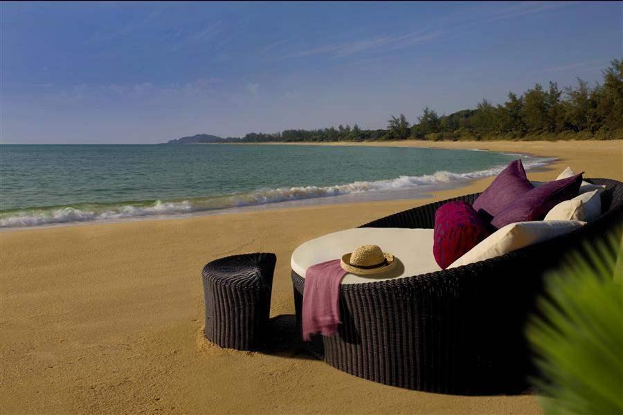 Tanjong Jara Resort Sun Bed Beach