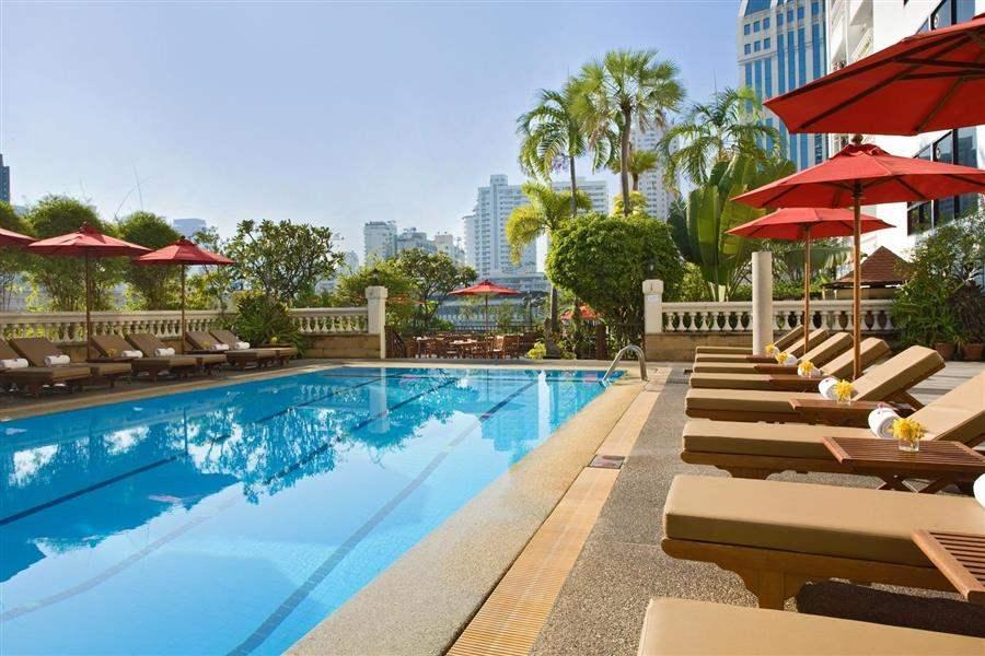 Amari Boulevard Hotel Pool Loungers