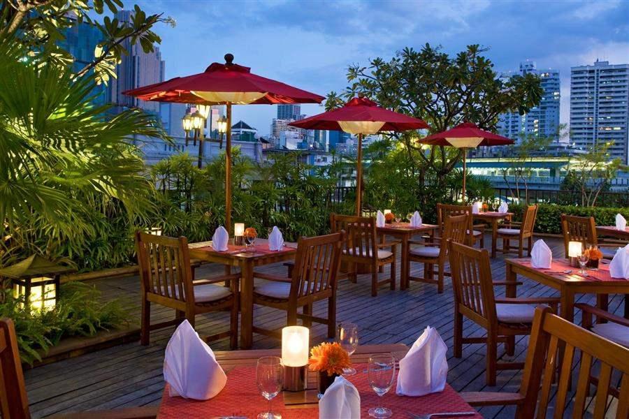 Amari Boulevard Hotel Dining Outdoors