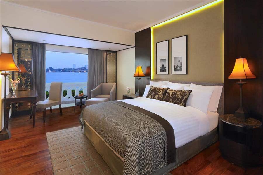 Anantara Bangkok Riverside Resort Spa Double Bedroom