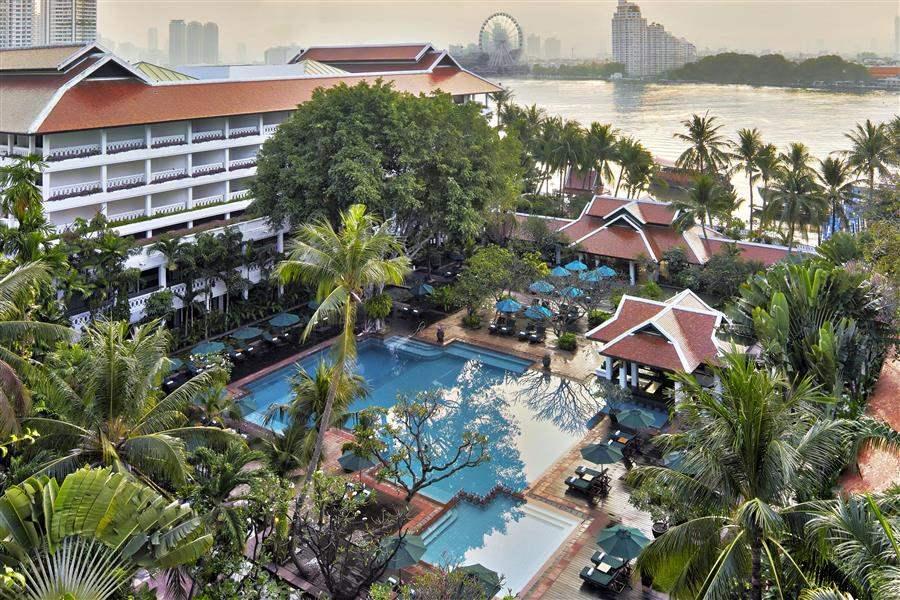 Anantara Bangkok Riverside Resort Spa Resort Aerial View