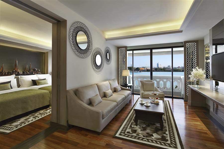 Anantara Bangkok Riverside Resort Spa Suite Interior