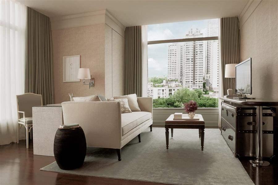Oriental Residence Bangkok Guest Lounge Interior