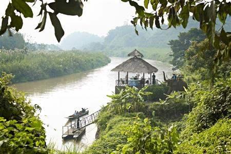 Anantara Golden Triangle Elephant Camp And Resort River Cruise
