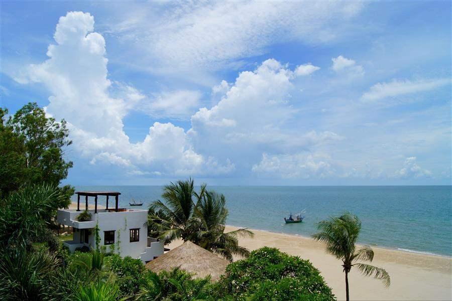 Aleenta Resort and Spa Hua Hin Pranburi Aerial