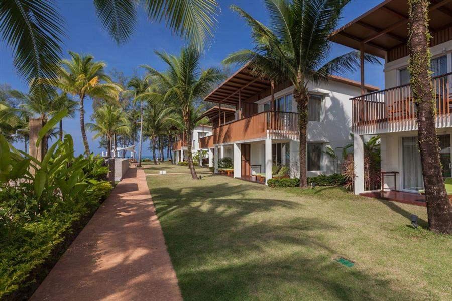 The Briza Beach Resort Garden Exterior