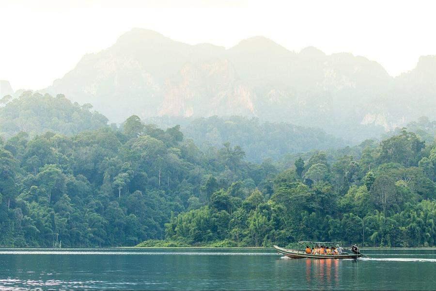 Elephant Hills Boat
