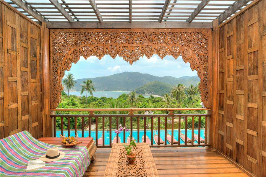 Santhiya Resort Spa Guest Balcony