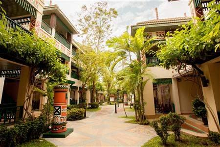 Chaba Cabanas Beach Resort Exterior