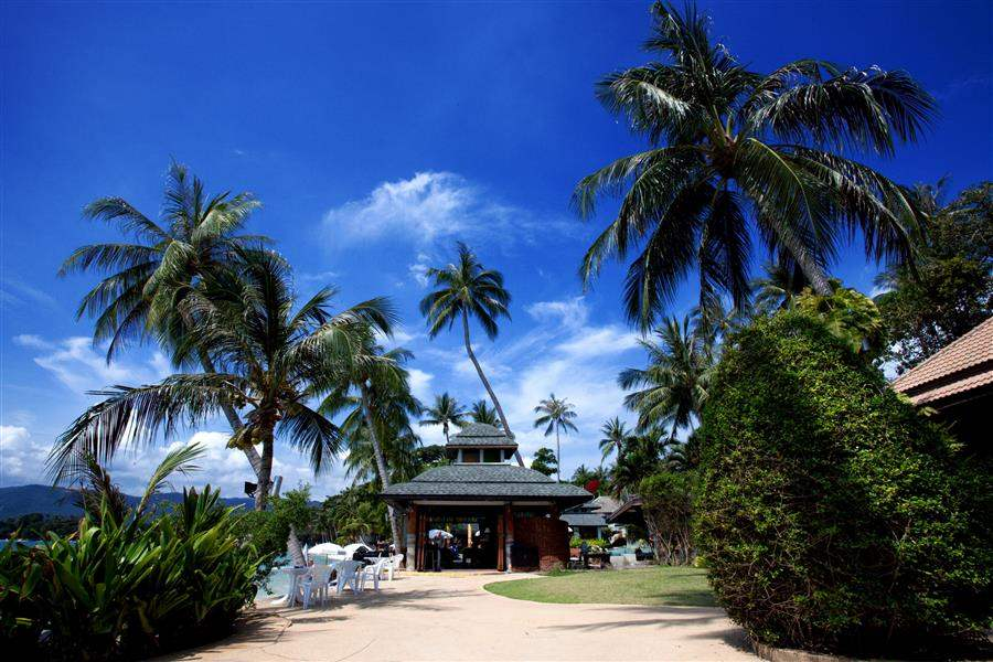 Chaba Cabanas Beach Resort Exterior View