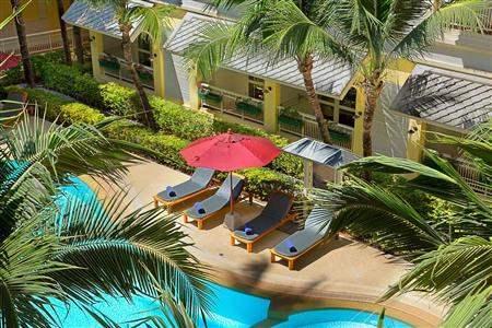 Manathai Koh Samui Pool Aerial