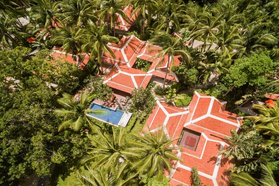Santiburi Resort Aerial
