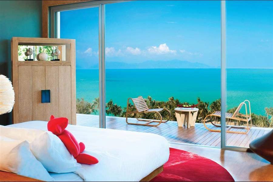 W Retreat Koh Samui Double Bedroom