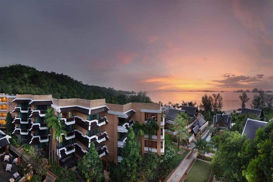 Amari Vogue Resort Hotel Aerial