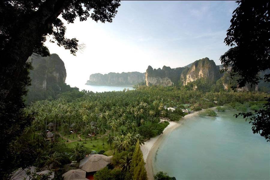 Rayavadee Resort Aerial
