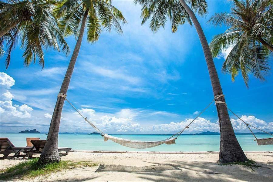 Phi Phi Island Village Beach Resort Hammock On Beach