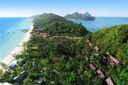 Zeavola Resort Resort Aerial