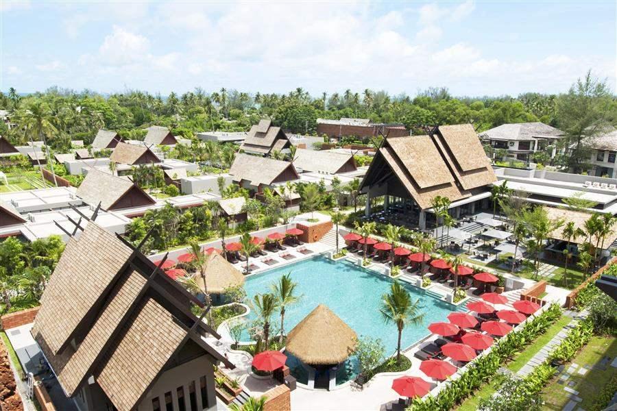 Anantara Mai Khao Phuket Villas Resort Aerial View