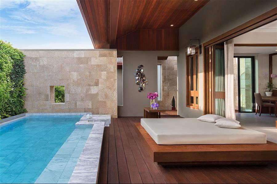 Avista Hideaway Resort  and Spa Tropical Hideaway Pool Suite