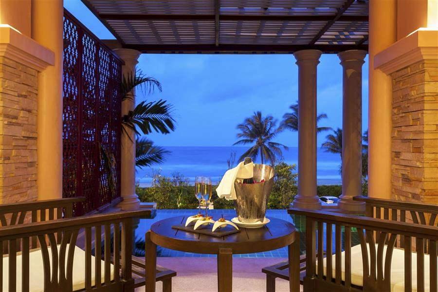 Centara Grand Beach Resort Phuket Bubbly On Balcony