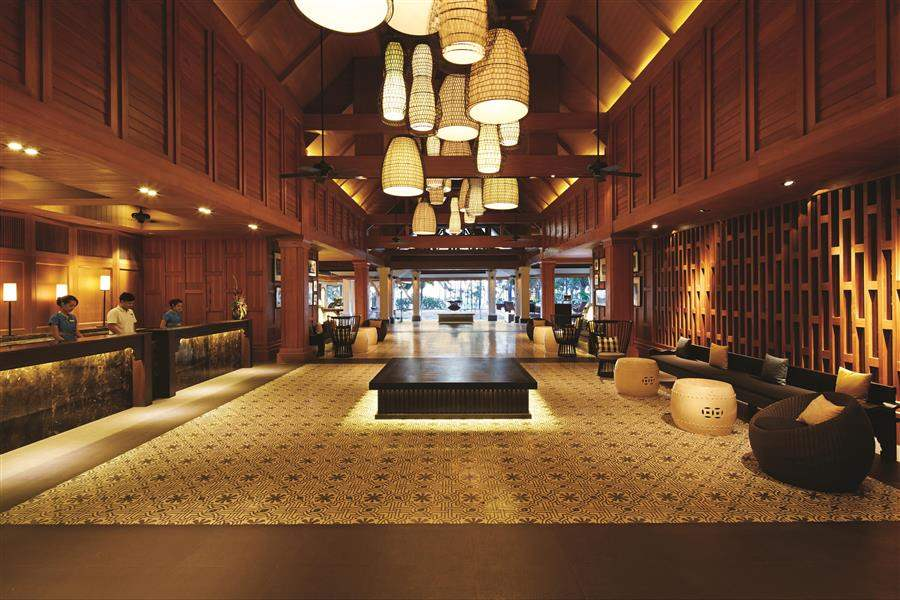 Outrigger Phuket Beach Resort Lobby