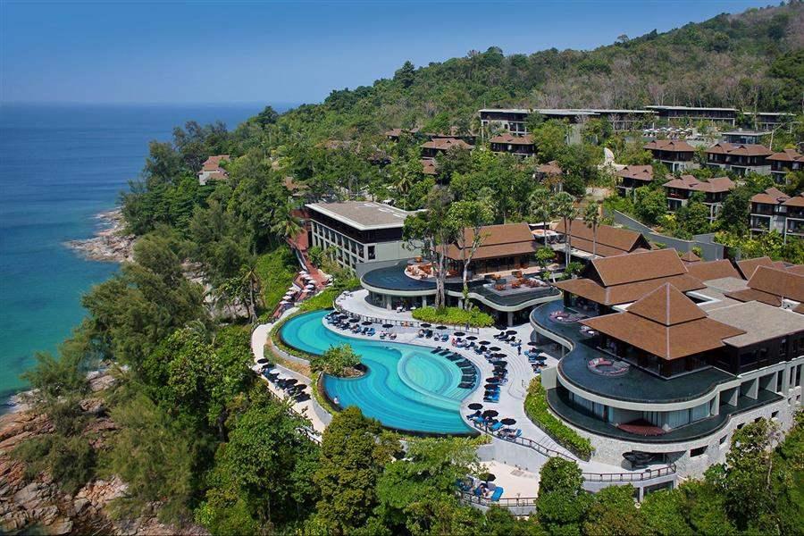 Pullman Phuket Arcadia Naithon Beach Resort Aerial
