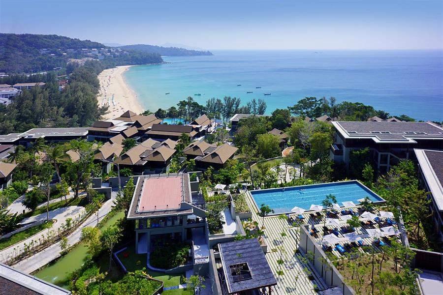 Pullman Phuket Arcadia Naithon Beach Aerial View