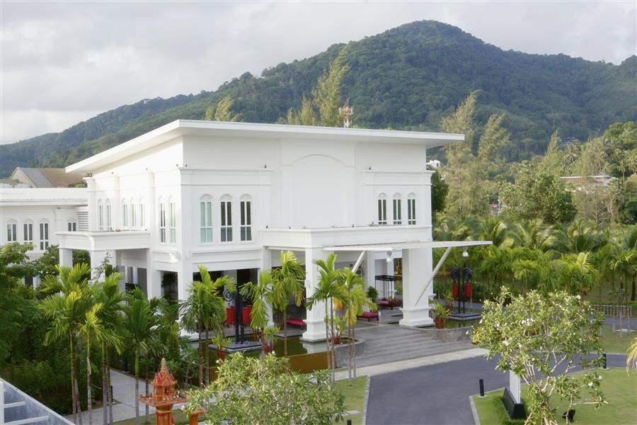 The Old Phuket Hotel Entrance