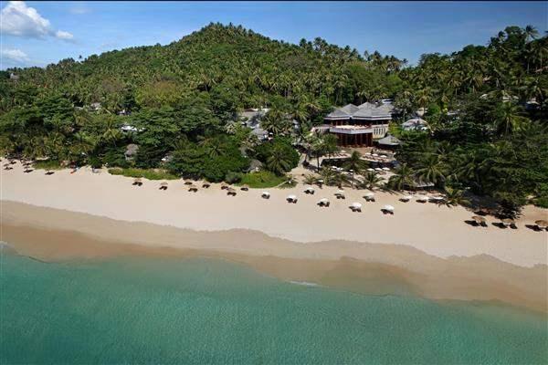 The Surin Phuket Resort Aerial