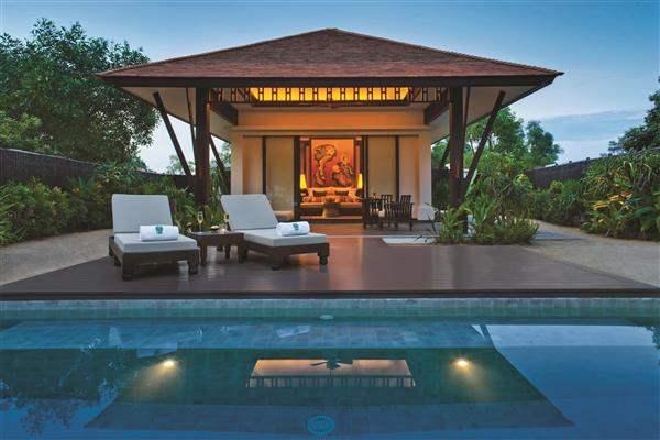 Banyan Tree Lang Co Lagoon Pool Villa Exterior