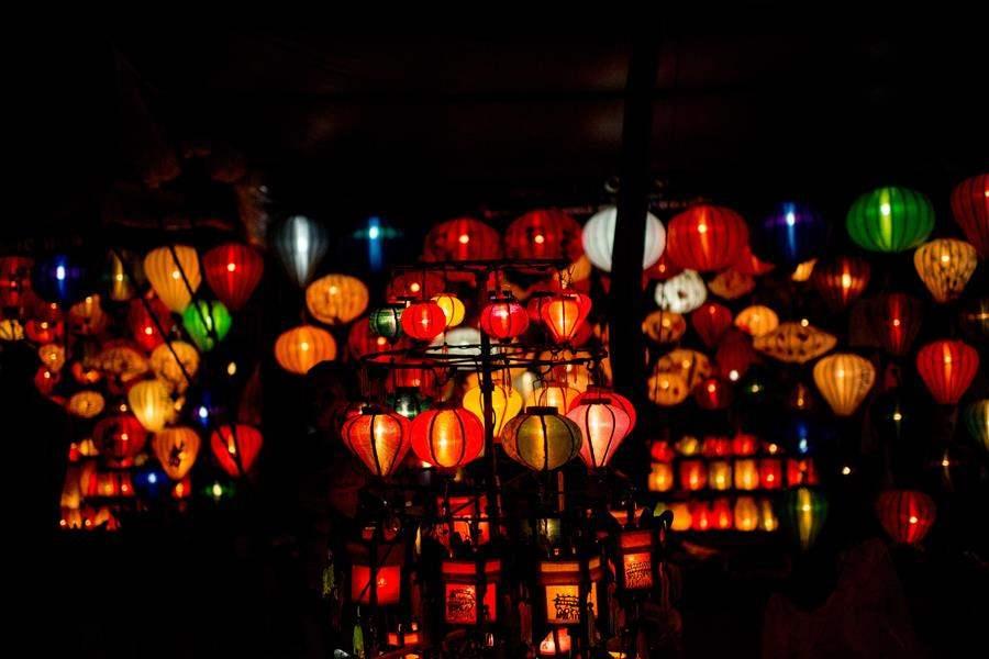 Anantara Hoi An Resort Lights
