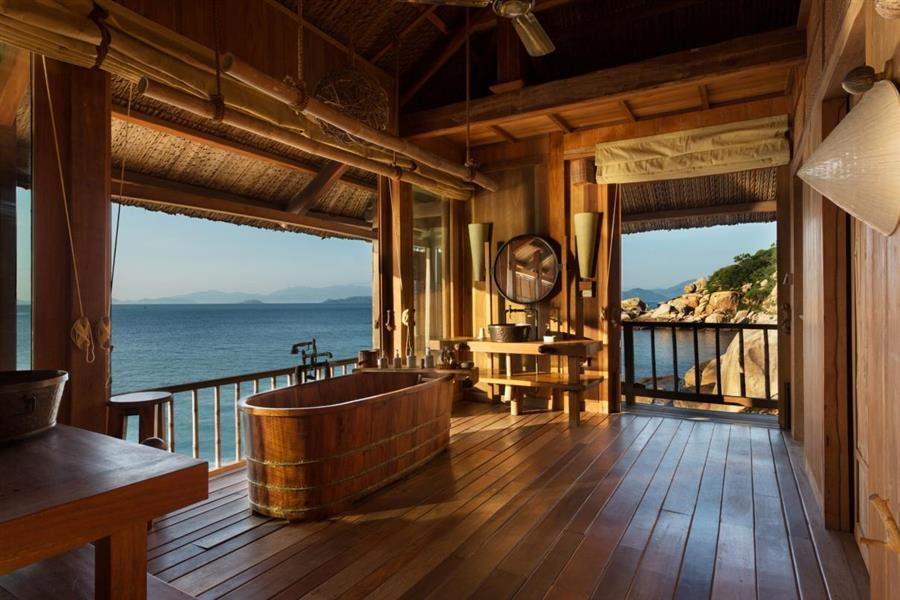 Six Senses Hideaway Ninh Van Bay Rock Pool Villa Bathroom