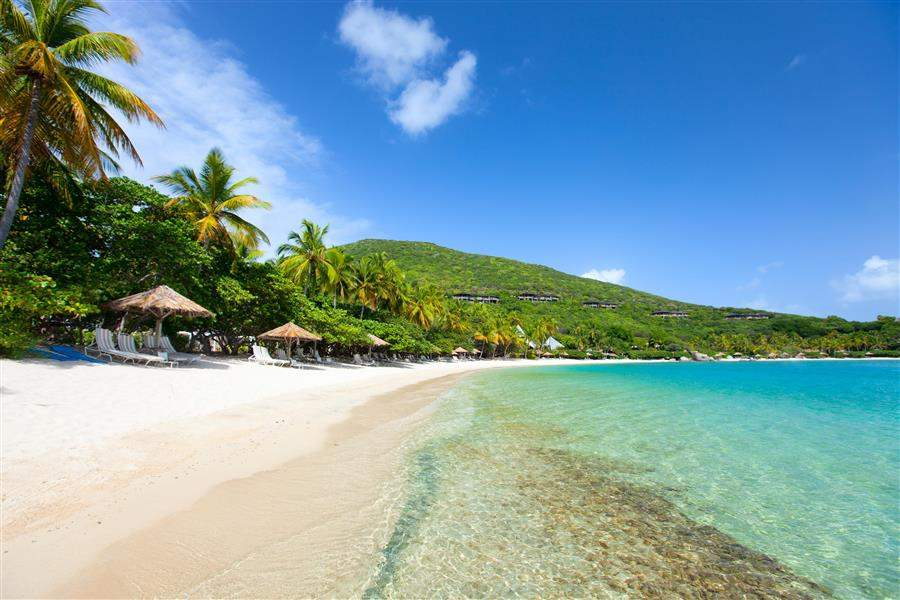 sunny british virgin islands