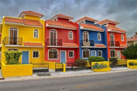 colorful dominican republic