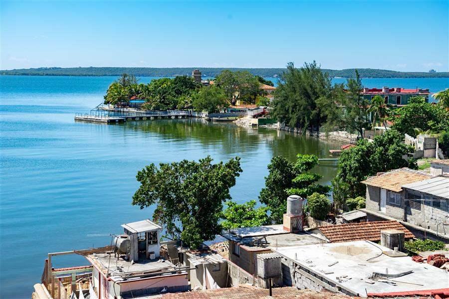 Cienfuegos coastal town scene Cuba