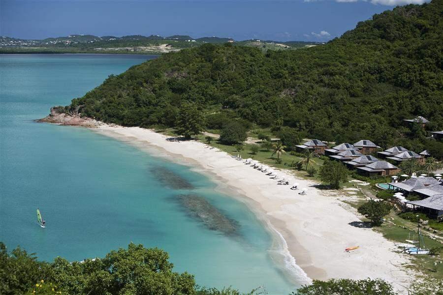 Hermitage Bay Hotel Resort Aerial