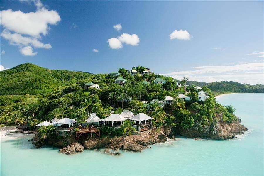 Cocos Hotel Aerial View