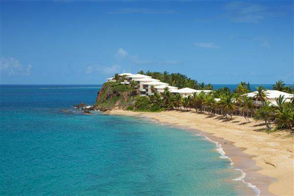 Curtain Bluff Surf Beach