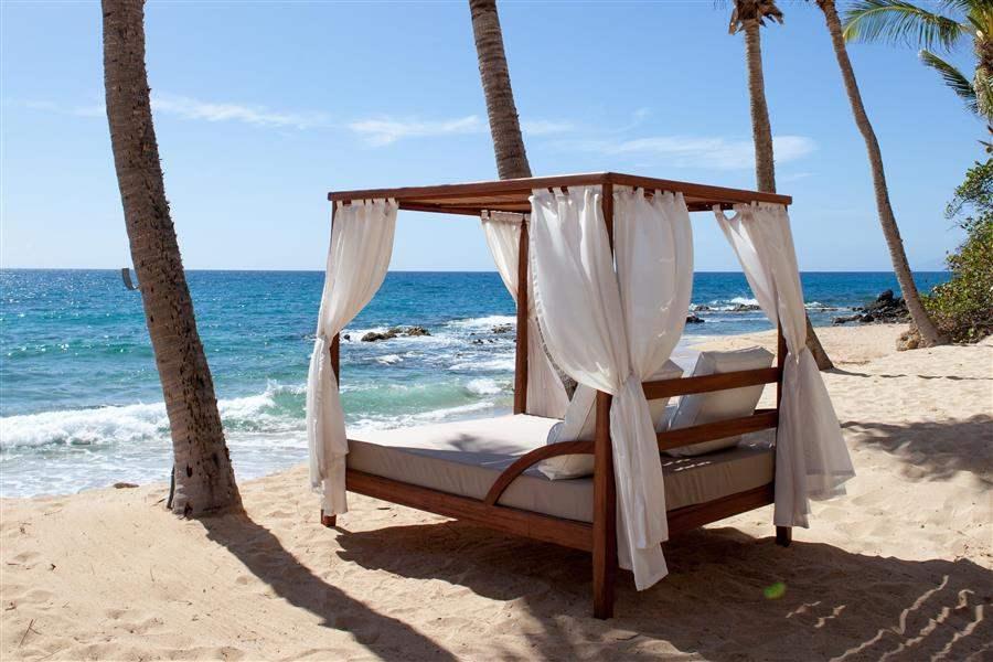 Curtain Bluff Beach Cabana
