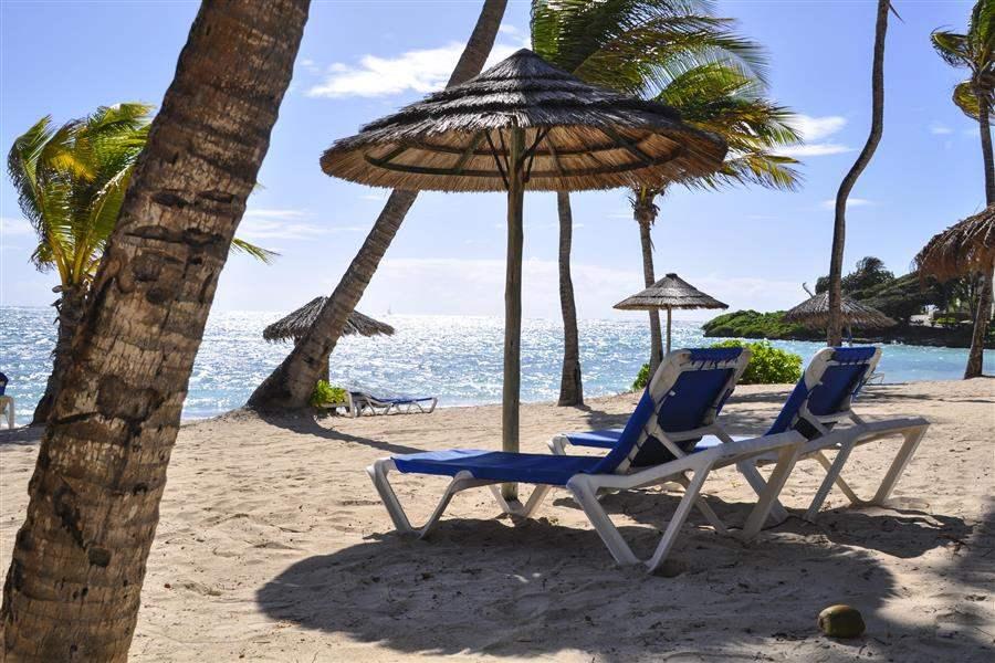 St James Club Beach Sun Loungers