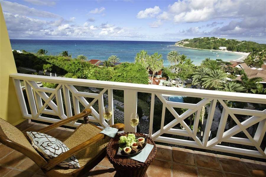 Grand Pineapple Beach Club Antigua Balcony View