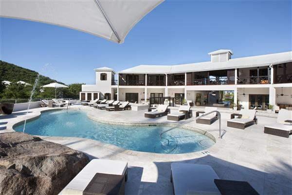 Sugar Ridge Hotel and Spa Antigua Pool Aerial