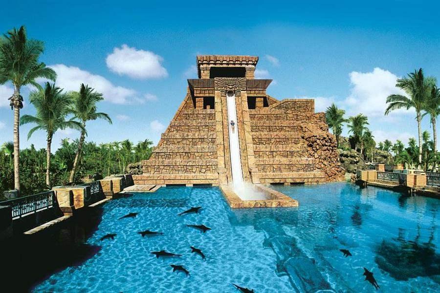 Atlantis Paradise Island Mayan Temple