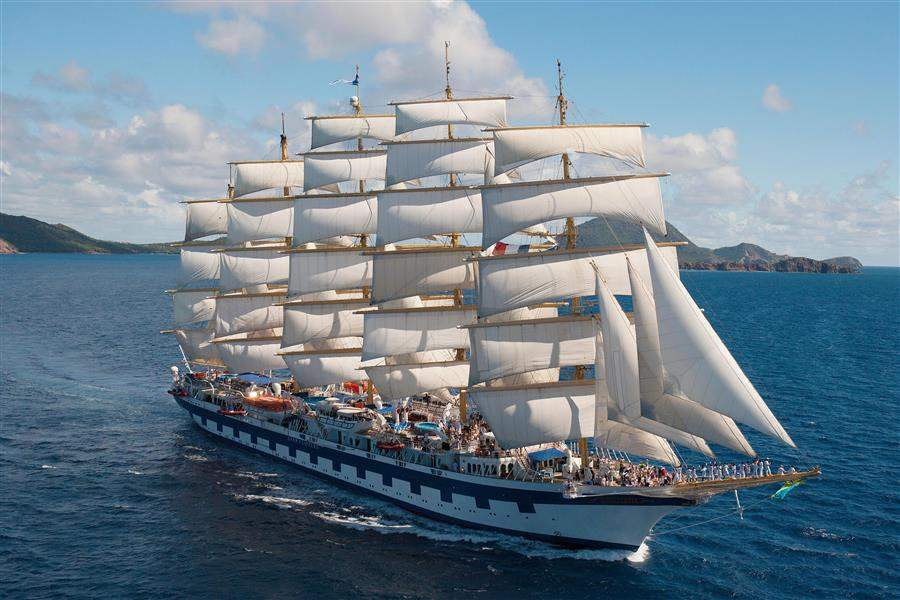 Royal Clipper Ship Shot