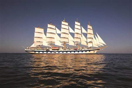 Royal clipper ship Shot