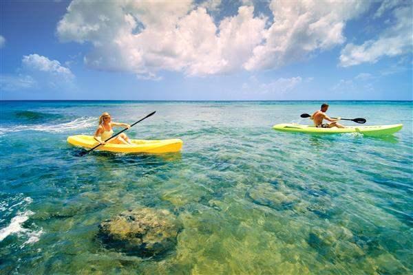 Almond Beach Resort Kayaking