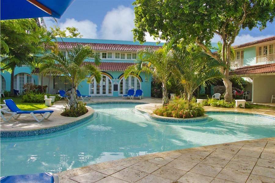 Almond Beach Resort Pool And Exterior