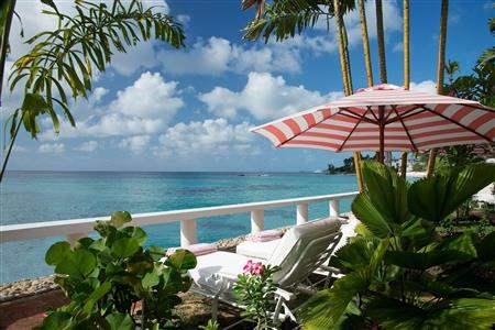 Cobblers Cove Loungerand Ocean