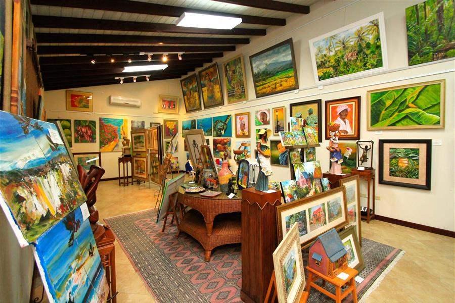 Sugar Cane Club Frangipani Art Gallery